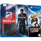 Sony PlayStation 4 Slim 1TB Black + 3 игры